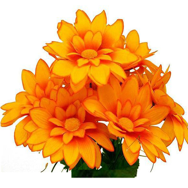 Silk flower bushes wholesale artificial flowers efavormart 108 artificial westfield alba flowers orange mightylinksfo