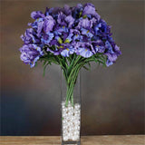 36 Large Iris Flowers-Purple