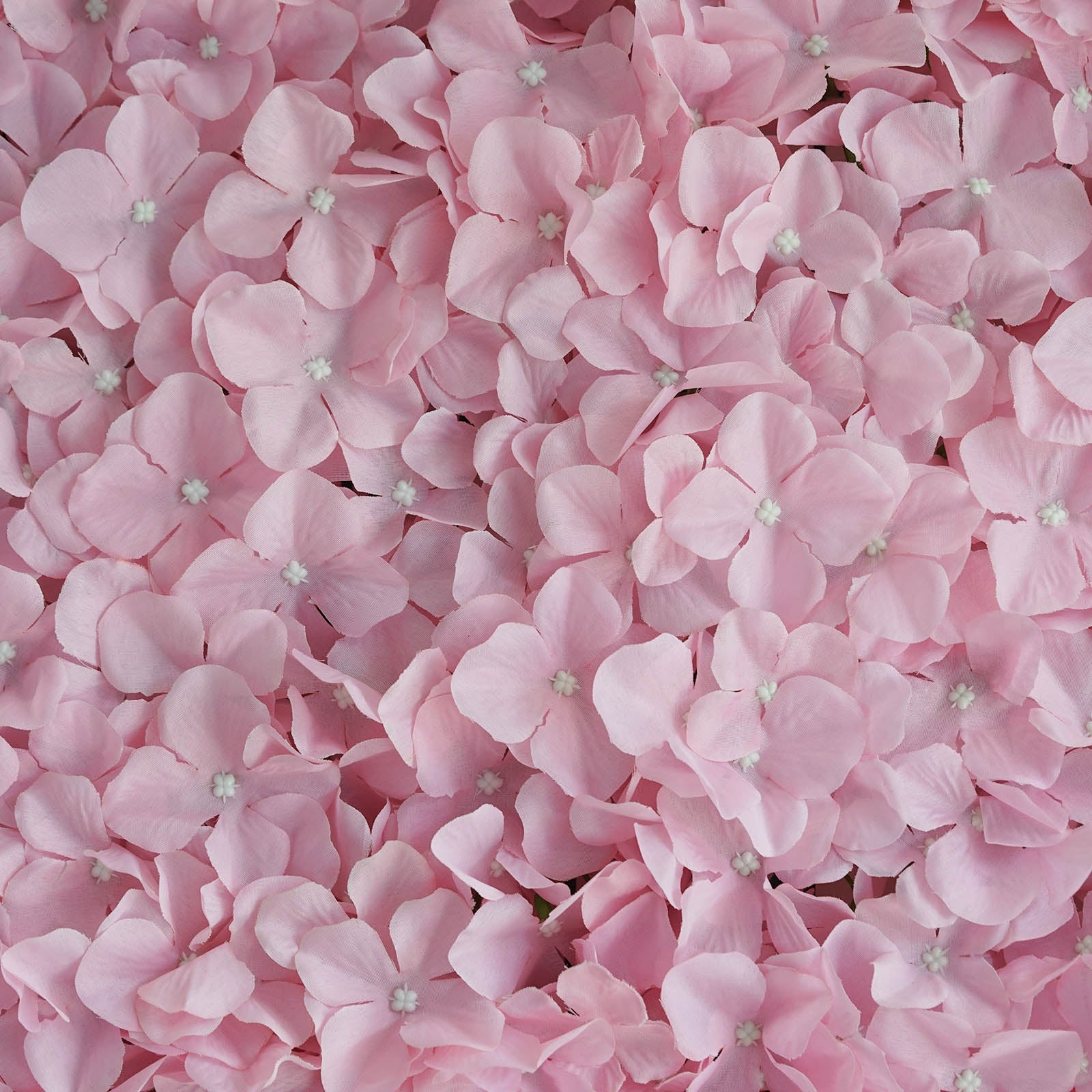 4 Pack 11.50 Sq ft. UV Protected Hydrangea Flower Wall Mat Panel ...