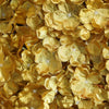 4 Pack Gold Hydrangea Flower Wall Mat Panel