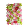 13 Sq ft. | 4 Panels UV Protected Lifelike Assorted Silk Flower Wall Mats - Spring Mix#whtbkgd