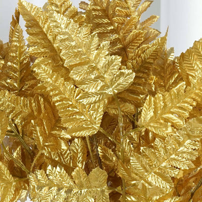 144 Leather Fern Gold