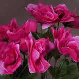 Silk Open Rose-Fushia-84/pk