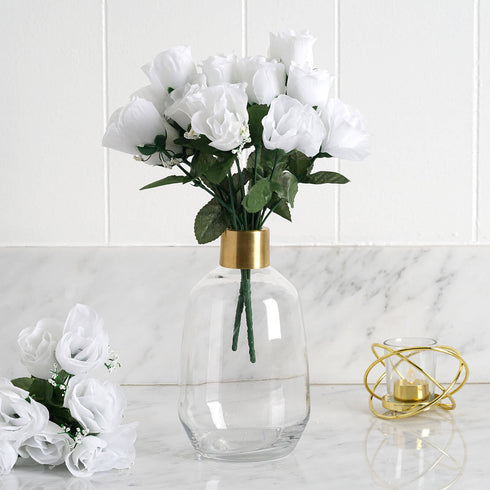 84 artificial silk rose buds white efavormart silk rose buds white 84pk mightylinksfo Image collections