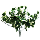 4 Artificial IVY Holland Leaf Green Bushes Vase Décor - Green