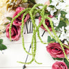 Pack of 2 - 32 inch Green Amaranthus Artificial Flower Stem With Ivy Leaves