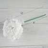 12inch Tall White Artificial Peony Silk Flowers Bouquet