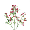 4 Pack | 27 Inch | Fushia Babys Breath Artificial Flowers, Gypsophila Real Touch Silk Flowers Stem