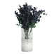 12 Bushes Navy Blue Artificial Silk Baby Breath Flowers