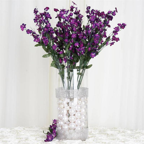 Silk Baby Breath-Purple-dz/pk