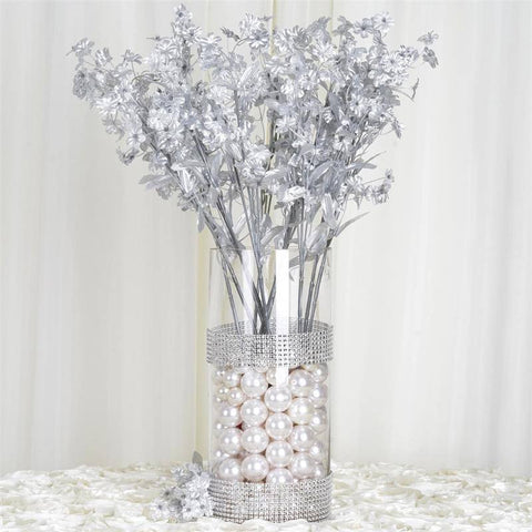 Silk Baby Breath-Silver-dz/pk