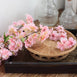 "4 Bushes | 40"" Tall Pink Silk Artificial Flowers Faux Cherry Blossoms Branches"