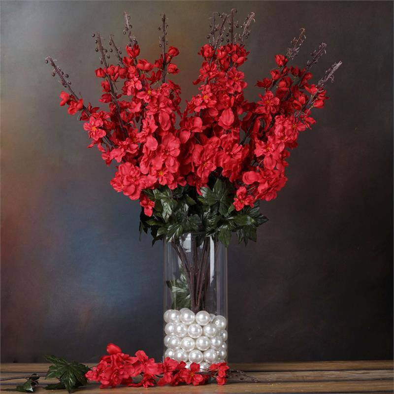 3 x Delphinium Bush - Red