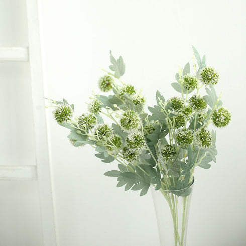 Globe Thistle, Artificial Flowers, Fake Plants