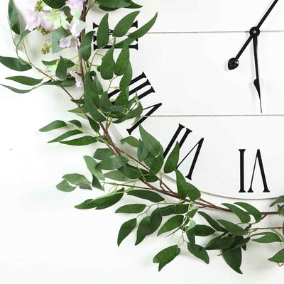 5 FT | Real Touch Willow Green Leaves Artificial Garland Vines