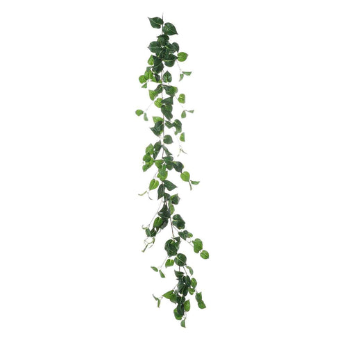 5 FT | Real Touch Green Poplar Leaves Artificial Garland Vines