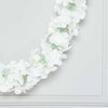 7 FT Cream Silk Hydrangea Artificial Flower Garland