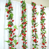 Rose Garland-Red-8pk