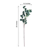 "2 Bushes - 36"" Green Flexible Artificial Eucalyptus Stems - UV Protected Artificial Outdoor Plant"