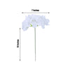 10 Pack - White Artificial Hydrangeas Head and Wire Stems - DIY Dual Tone Hydrangea Flower Arrangements