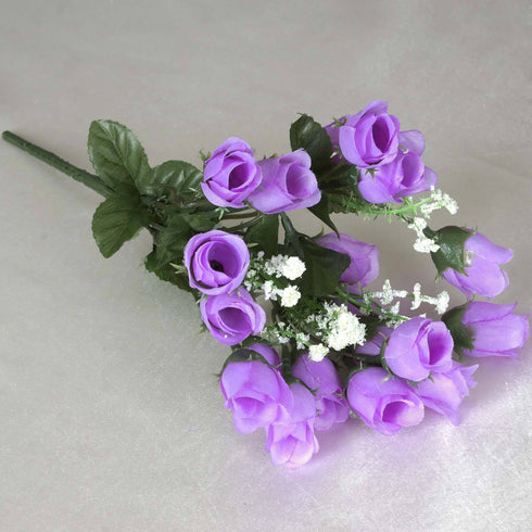 Mini Rose Buds-Lavender-180/pk
