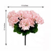 12 Bush 84 pcs Blush | Rose Gold Artificial Silk Chrysanthemum Flowers