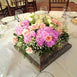12 Bush 84 pcs Pink Artificial Silk Chrysanthemum Flowers