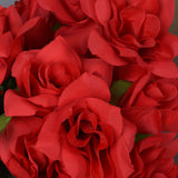 Velvet Bloom Roses-Red-168/pk