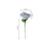24 Bush 168 Pcs Silver Artificial Bloom Roses Flowers