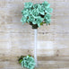 168 Artificial Velvet Bloom Roses Flower - Turquoise