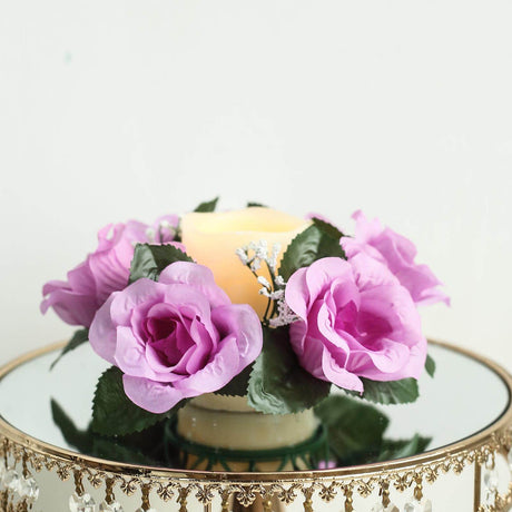 Beautiful Roses Colour No.27 Artificial Flowers 12 Cream Wooden Roses