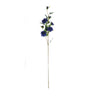 Pack of 2 | 38 inch Navy Blue Silk Long Stem Roses, Artificial Flowers Rose Bouquet