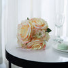 2 Pack | Pink Rose & Hydrangea Artificial Silk Flowers Bouquet