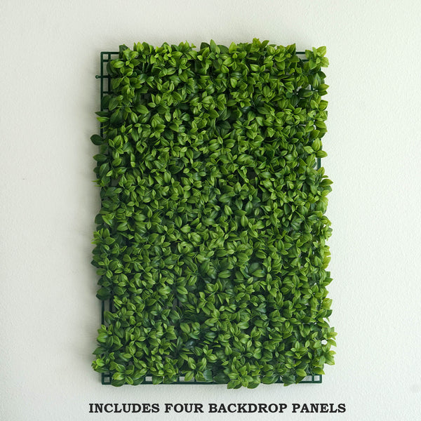 11 Sq Ft 4 Panels Artificial Green Boxwood Hedge Faux