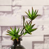 "Set of 3 | 13"" Assorted Artificial Succulent Plants Yucca Aloe Vera Long Stem Air Plants"