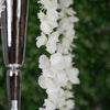4 Ft Cream Artificial Wisteria Vine Hanging Garland