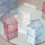 12 Pack Clear Baby Blocks