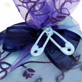 Wholesale Blue Decorative Baby Safety Pins Birthday Shower Favors Gift - 144/pk