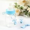 144 Pack Blue Small Baby Pacifiers for Baby Shower Favor Decor