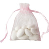 "10 Pack 3x4"" Pink Organza Drawstring Party Favor Gift Pouch Candy Bags For Wedding Birthday Baby Shower"