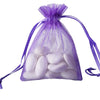 "10 Pack 3x4"" Purple Organza Drawstring Party Favor Gift Pouch Candy Bags For Wedding Birthday Baby Shower"