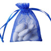 "10 Pack 3x4"" Royal Blue Organza Drawstring Party Favor Gift Pouch Candy Bags For Wedding Birthday Baby Shower"