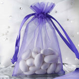 "4 x 6"" Purple Organza Bags"