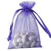 "10 Pack 4x6"" Purple Organza Drawstring Party Favor Gift Pouch Candy Bags For Wedding Birthday Baby Shower"