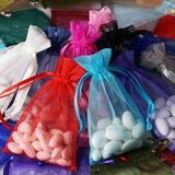 4x6 Organza Bags-10/pk - Moss/Willow