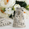 Cotton Drawstring Bags, Wedding Favors, Gift Bags