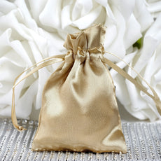 "3 x 4"" Champagne Satin Bags"