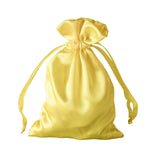 "4x6"" Satin Drawstring Bags - Gold - 12 Pack"