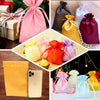 "Pack of 12 - 4""x6"" Eggplant Satin Party Favor Bags, Drawstring Pouch Gift Bags"