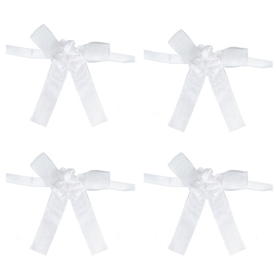 10 Pc White Deluxe Triple Rose Collection